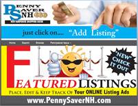 Featured Listings Place, Edit & Keep Track of Your Online Listing Ads through www.PennySaverNH.com