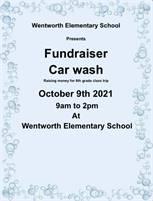 Wentworth Elementary School 8th grade Car wash