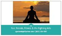 Weight loss / Fitness & Self-Defense Private Lessons