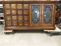 Vintage Pulaski Apothecary Cabinet