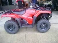Honda Fourtrax Rancher with power steering