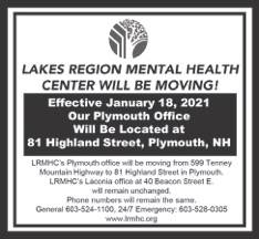 Lakes Region Mental Health Moving