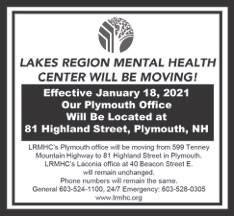 Lakes Region Mental Health Moving
